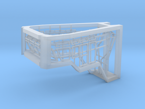 Window Frames 1/75 fit Harbor Tug Bridge in Smooth Fine Detail Plastic