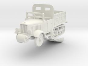 1/87 Pionierwagen Unic P.107 in White Natural Versatile Plastic