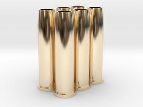 Airsoft WinGun Revolver 7-BB Shotgun Shell (x6) in 14k Gold Plated Brass