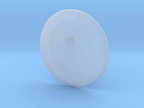 Round Custom Symbol Shield, 5mm in Smooth Fine Detail Plastic