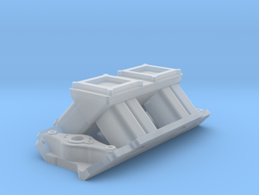 Tunnel Ram for Brodix Big Block - No bungs in Smooth Fine Detail Plastic