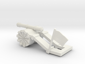 Tank paperweight in White Natural Versatile Plastic: Small