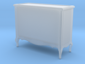 Printle Thing Chest of Drawers 01 - 1/72 in Smooth Fine Detail Plastic