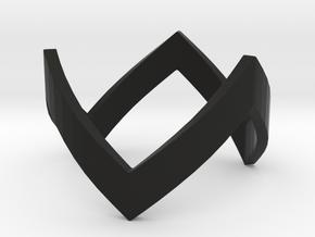 WonderWoman THK Ring in Black Premium Strong & Flexible: 4 / 46.5