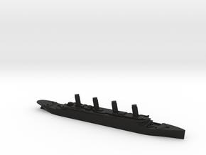 Titanic 1:3000 in Black Premium Versatile Plastic