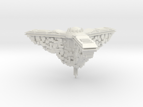 Narn Space Station 100mm in White Natural Versatile Plastic