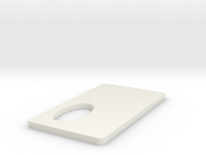 FuseBoxPanel in White Natural Versatile Plastic