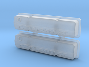 Small Block Chevrolet Racing Valve Covers in Smoothest Fine Detail Plastic