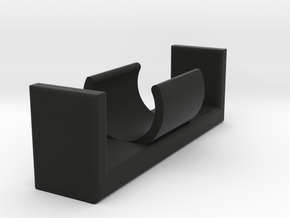 AA Battery Holder in Black Natural Versatile Plastic