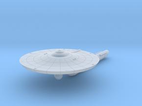 3125 Scale Franz Joseph Federation Destroyer (DD)  in Smooth Fine Detail Plastic
