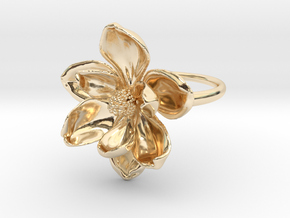 Magnolia Ring in 14K Yellow Gold: 5 / 49