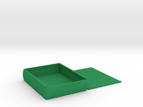 Medium Sized Durable Survival Box in Green Processed Versatile Plastic