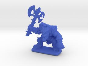 HeroQuest FrozenHorror 28mm heroic scale miniature in Blue Processed Versatile Plastic