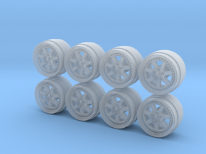 Mugen M7 Hot Wheels Rims in Frosted Extreme Detail
