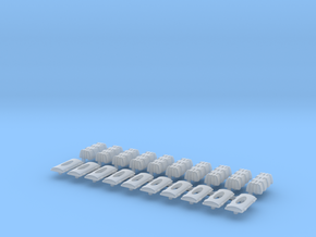 1:50 Feuerlöscher-Kasten V1 in Smooth Fine Detail Plastic
