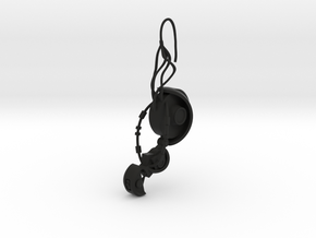 GLaDOS Earring in Black Premium Strong & Flexible
