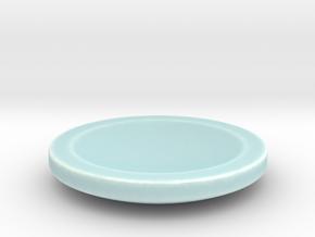 Designer ashtray in Gloss Celadon Green Porcelain