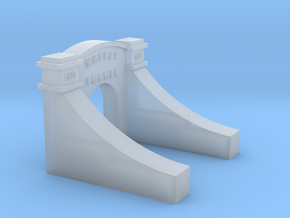 Moffat Tunnel West Portal No Tunnel N in Smooth Fine Detail Plastic
