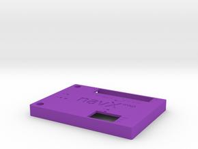 Navx2-mxp-roborio-lid V4 Scaleddown in Purple Processed Versatile Plastic