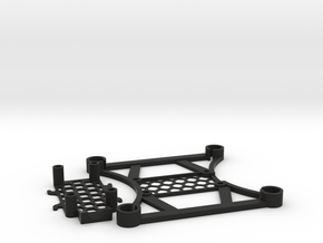 Ultralight Micro 105mm FPV Quadrotor Frame (8.5mm  in Black Natural Versatile Plastic