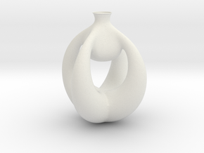 Vase 750 (downloadable) in White Natural Versatile Plastic
