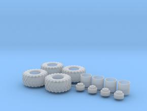 H0 1:87 Reifen 750/65 R26 in Smooth Fine Detail Plastic