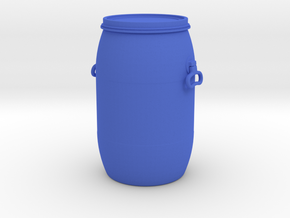 DRUM 1-24 in Blue Processed Versatile Plastic