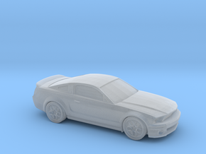 1/220 2006-10 Ford Mustang Shelby in Smooth Fine Detail Plastic