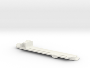 Coverplate V3 w/ KeyHole for Cisco AP 3802i/e in White Natural Versatile Plastic
