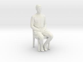 Printle C Kid 179 - 1/32 - wob in White Natural Versatile Plastic