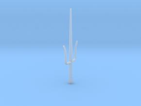 Sai Miniature in Smooth Fine Detail Plastic: Small
