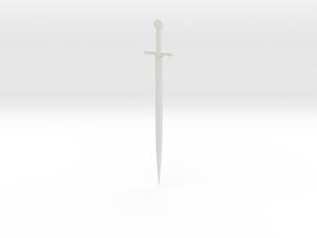Bastard Sword in White Strong & Flexible