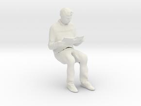 Printle C Homme 1066 - 1/32 - wob in White Natural Versatile Plastic