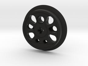 Large Boxpok Flanged Driver in Black Premium Versatile Plastic