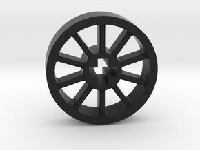 Medium Small Blind Driver without Pin Hole in Black Premium Versatile Plastic