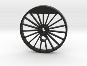 XXL Blind Driver - 19 Spokes, Small Counterweight in Black Premium Versatile Plastic