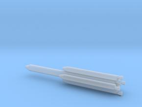 1/400 Scale Titan III L2 Rocket in Smooth Fine Detail Plastic