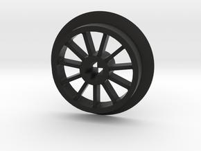 Medium Flanged Driver with No Pin Hole in Black Premium Versatile Plastic
