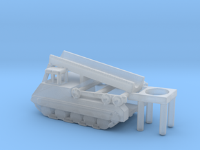 1/285 Scale M474 Pershing Launcher in Smooth Fine Detail Plastic
