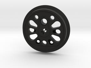 XL Boxpok Flanged Driver - S Counterweight No Groo in Black Premium Versatile Plastic
