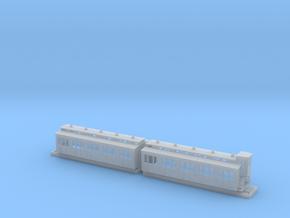 Doppelabteilwagen II. Fl Stadtbahn MBh.-2 in Smoothest Fine Detail Plastic