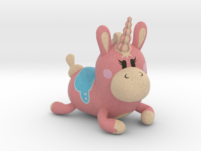 Sitting Balloonicorn in Full Color Sandstone