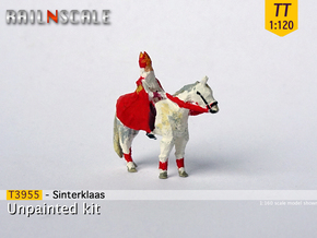 Sinterklaas (TT 1:120) in Smoothest Fine Detail Plastic