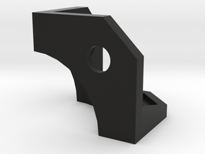Cube-v4-corner-r3 in Black Natural Versatile Plastic