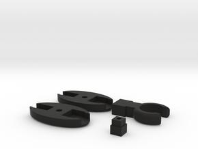 SCUBA - Rope Type - LP Hose Clip in Black Natural Versatile Plastic