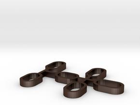 171115_colisos metalicos para rodamientos de ejes in Matte Bronze Steel