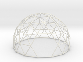 3vDome5/8 in White Strong & Flexible