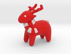 Deer Red heart in Full Color Sandstone