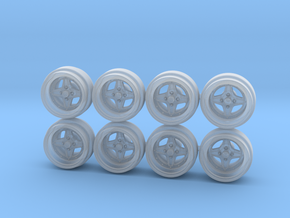 SSR Bright Speed Hot Wheels Rims in Smooth Fine Detail Plastic