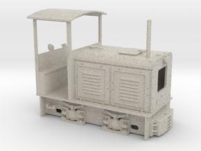 Feldbahnlok LKM Ns2 1:35 in Natural Sandstone